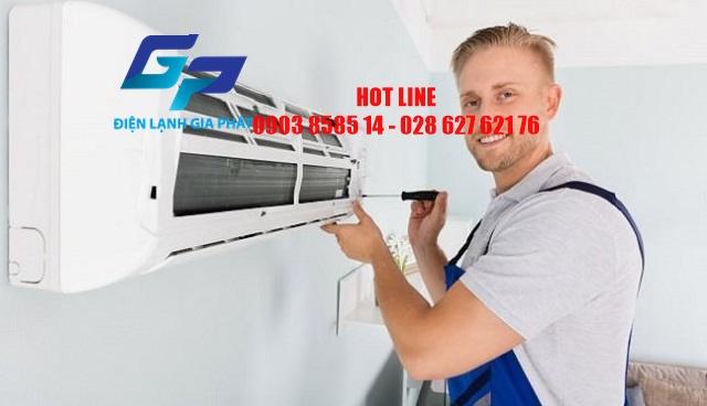 Sửa chữa máy lạnh p Tân Kiểng Quận 7